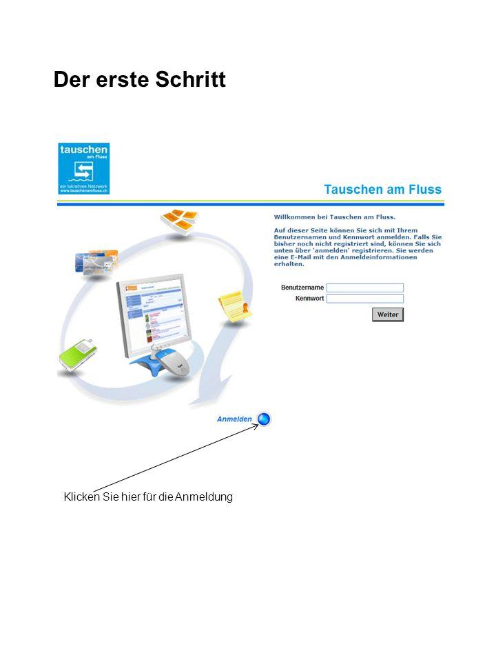 Anmeldung bei Cyclos h.muster Was ist wichtig bei der einmaligen Anmeldung.
