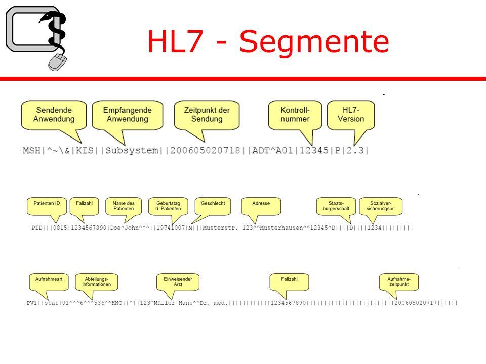 HL7 - Segmente