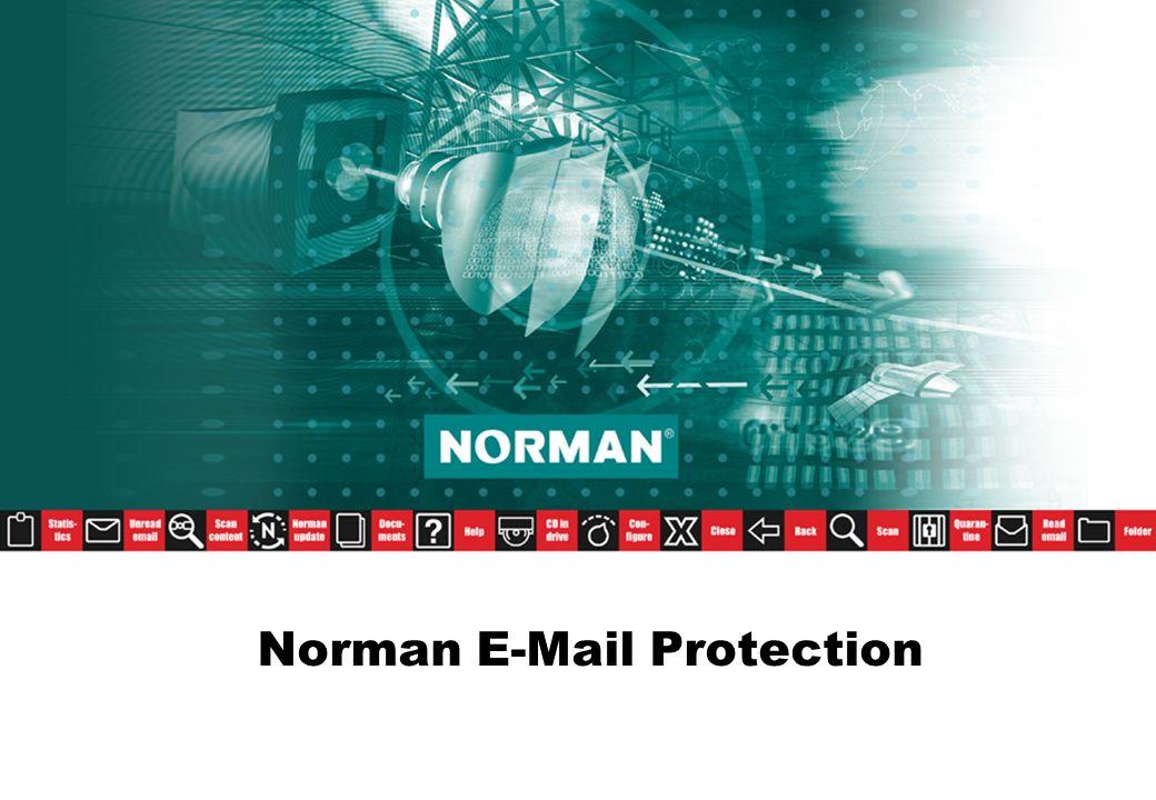 Anlagen- und Virenschutzfilter Blockiert E-Mails mit Anlagen bestimmter Dateitypen –Effizient auch bei verborgenen Erweiterungen –Vorkonfigurierte Dateiliste (kann angepasst werden) –Auf Netzwerk-, Domänen- und Benutzerebene konfigurierbar Unterstützt/erzwingt Unternehmensrichtlinien Löscht offensichtlich unerwünschte Dateien ohne Aufruf der Virenprüfung