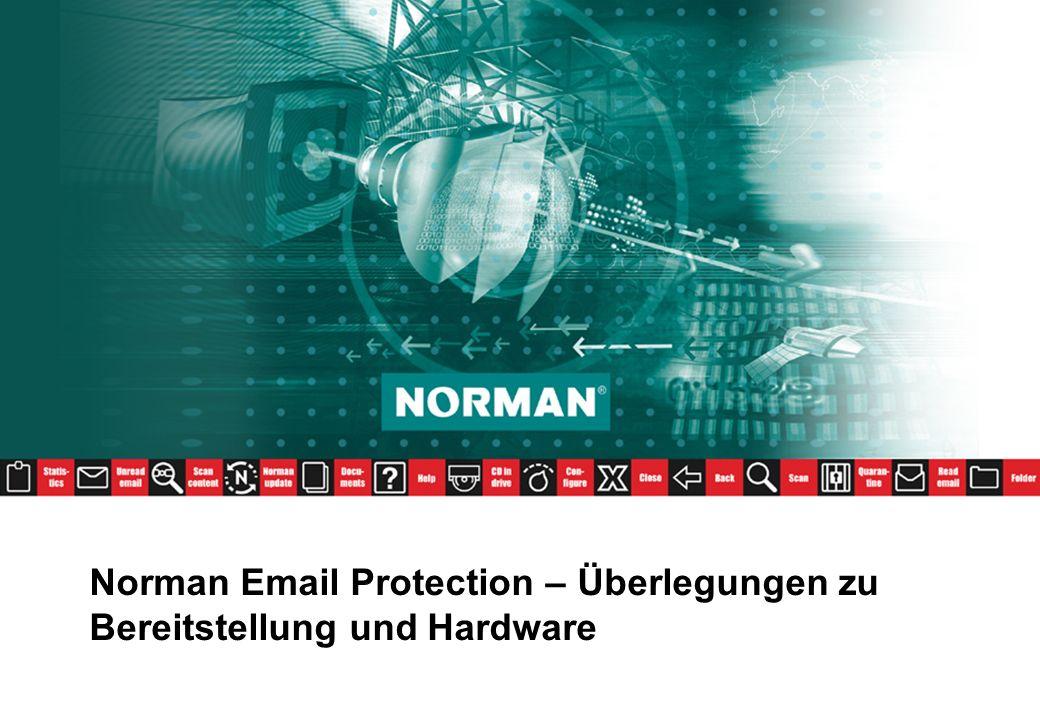Norman Email Protection – Überlegungen zu Bereitstellung und Hardware