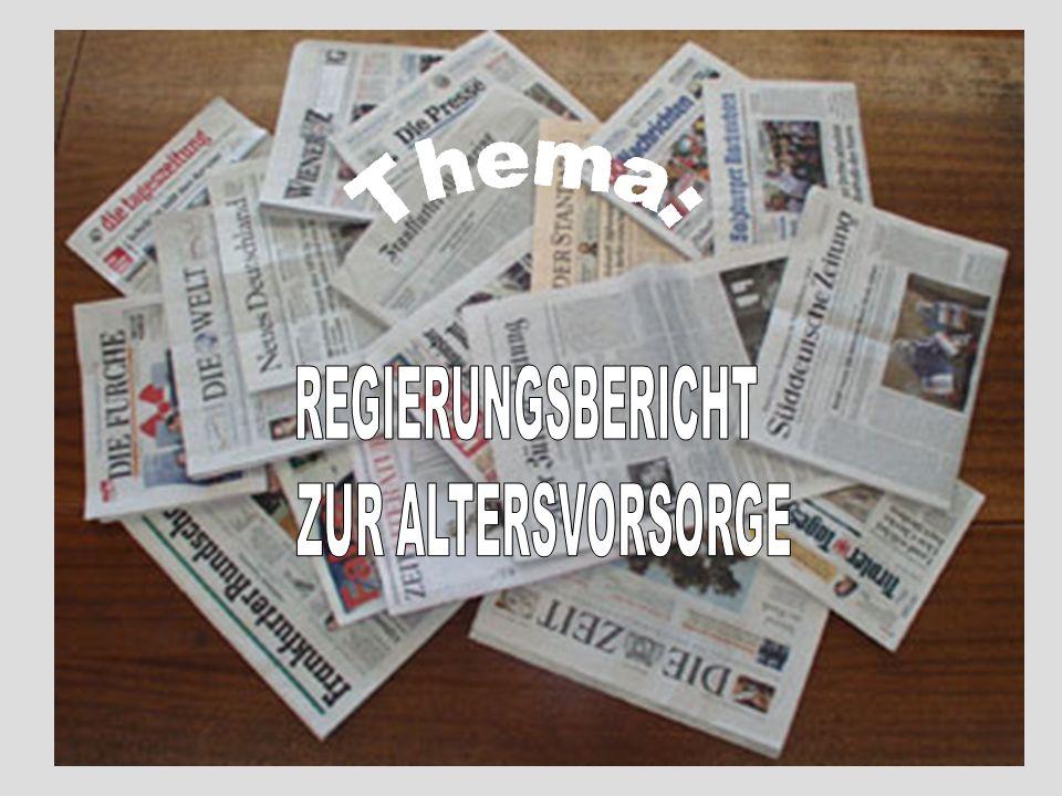 Fazit bei Tageszeitungen Größte Berichterstattung bei FAZ Kleinste Berichterstattung bei SZ Für Bild sehr wichtig (bis heute Berichterstattung) Bild verklagt seitdem die Rentenlügner Ähnlich Berichterstattung bei Bild & Merkur (Politiker-Renten)