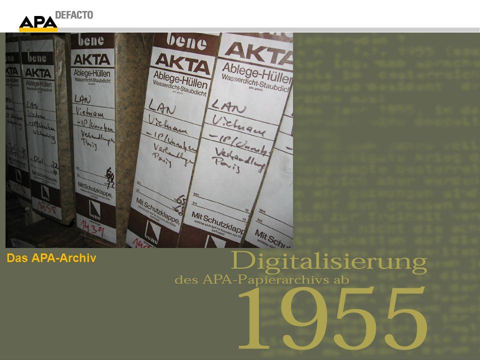 Das APA-Archiv