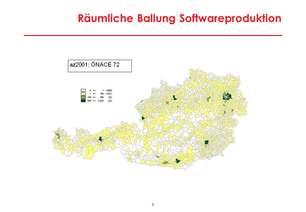 5 Räumliche Ballung Softwareproduktion