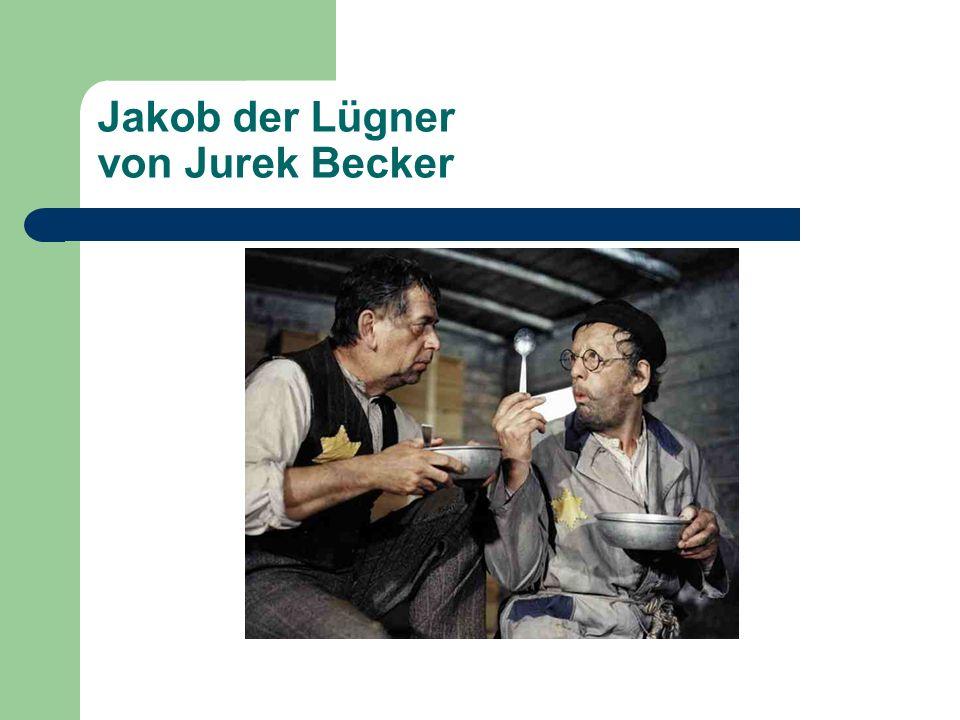 Jakob der Lügner von Jurek Becker