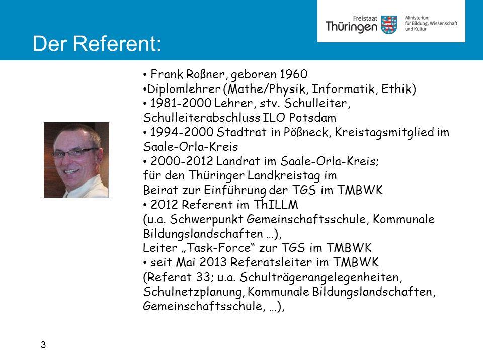 3 Frank Roßner, geboren 1960 Diplomlehrer (Mathe/Physik, Informatik, Ethik) 1981-2000 Lehrer, stv.
