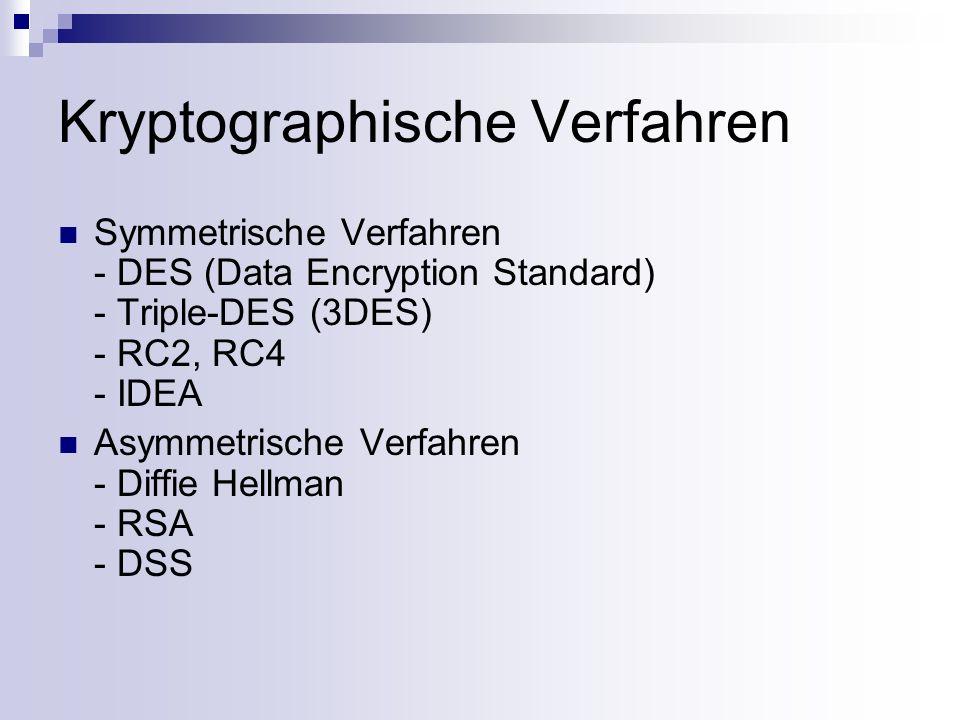 Symmetrische Verschlüsselung Bei diesen klassischen Verschlüsselungsverfahren benutzen Sender und Empfänger dieselben Ver- und Entschlüsselungsschlüssel e und d.