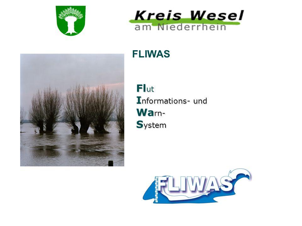 FLIWAS Fl ut I nformations- und Wa rn- S ystem