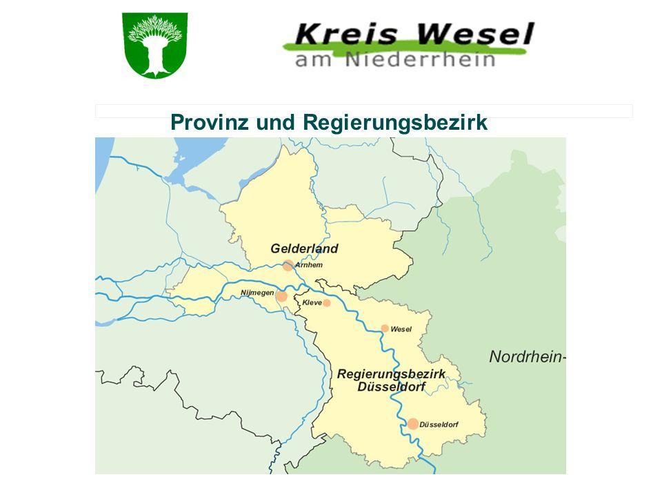 Provinz und Regierungsbezirk