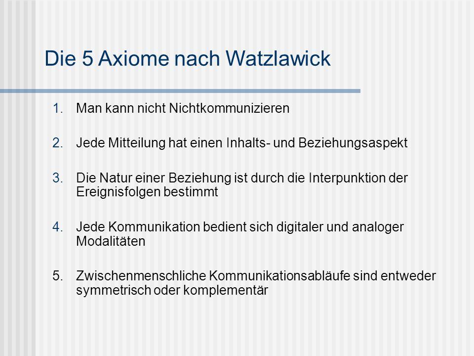 Definitionen laut Watzlawick: Schwierigkeiten: unerwünschte Sachlagen oder Situationen, die durch vernünftige Maßnahmen nicht behoben werden können Probleme: Spiele ohne Ende, Sackgassen und Konflikte, die durch falsche Lösungsversuche erzeugt werden.