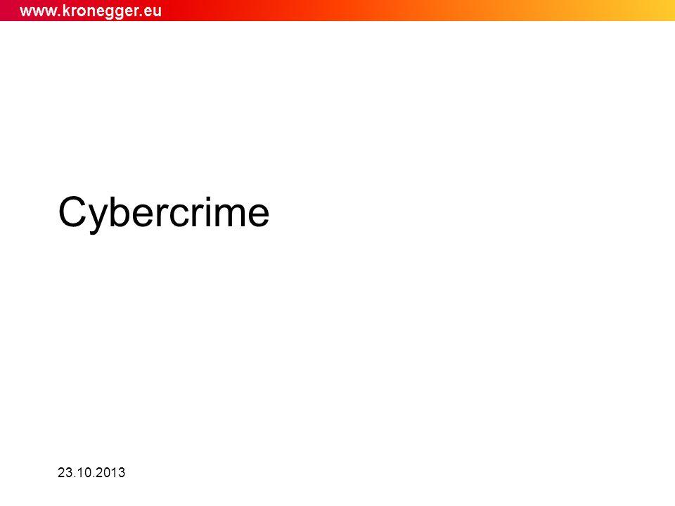 23.10.2013 Cybercrime