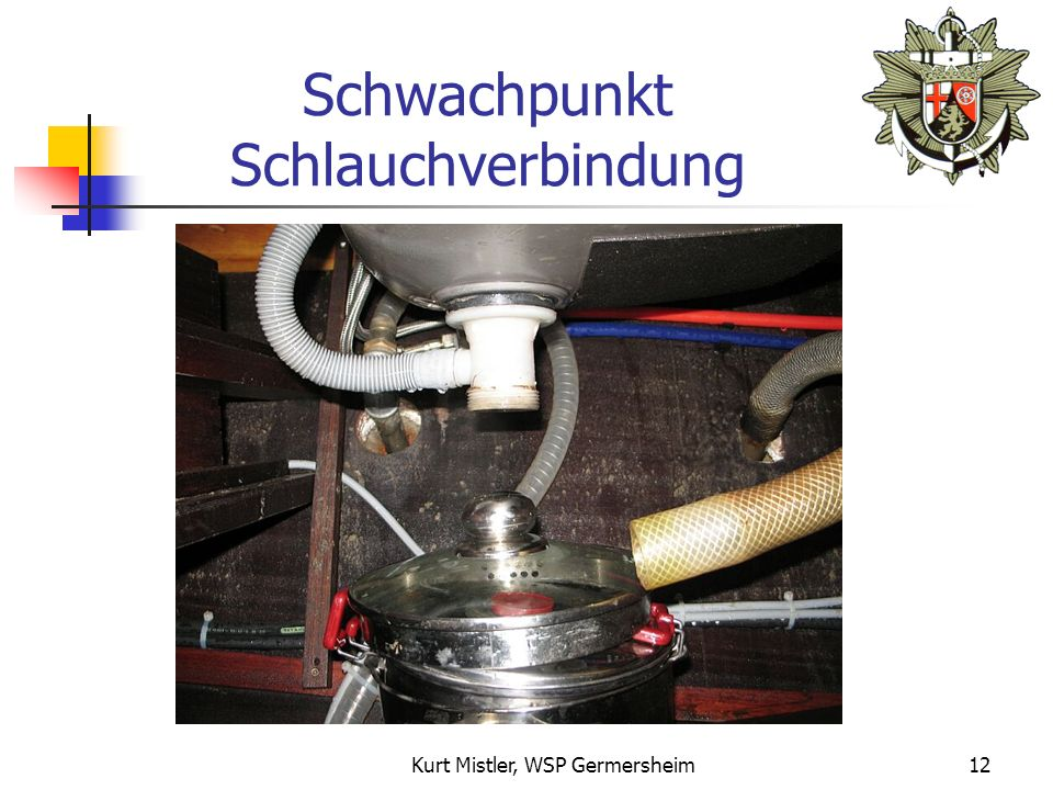 Kurt Mistler, WSP Germersheim11 Gesunkenes Boot
