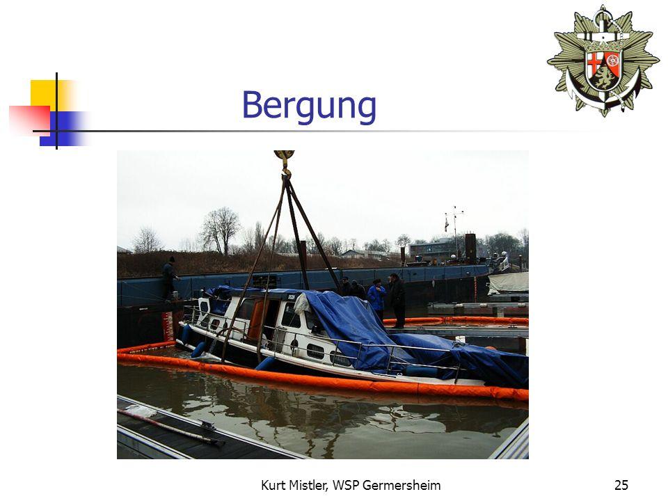 Kurt Mistler, WSP Germersheim24 Bergung