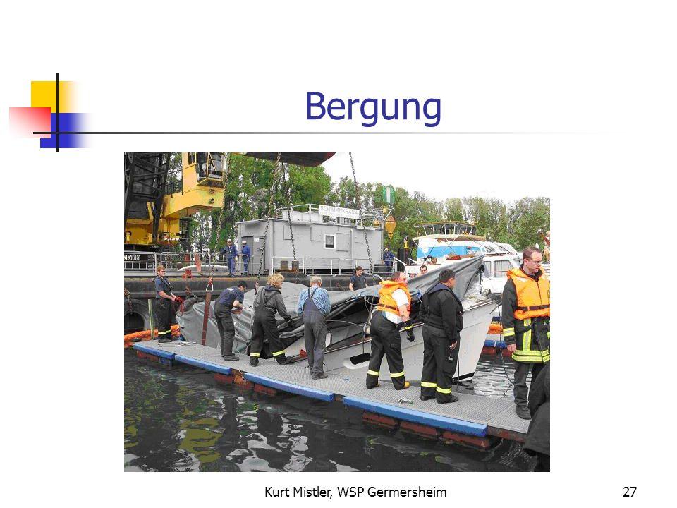 Kurt Mistler, WSP Germersheim26 Bergung