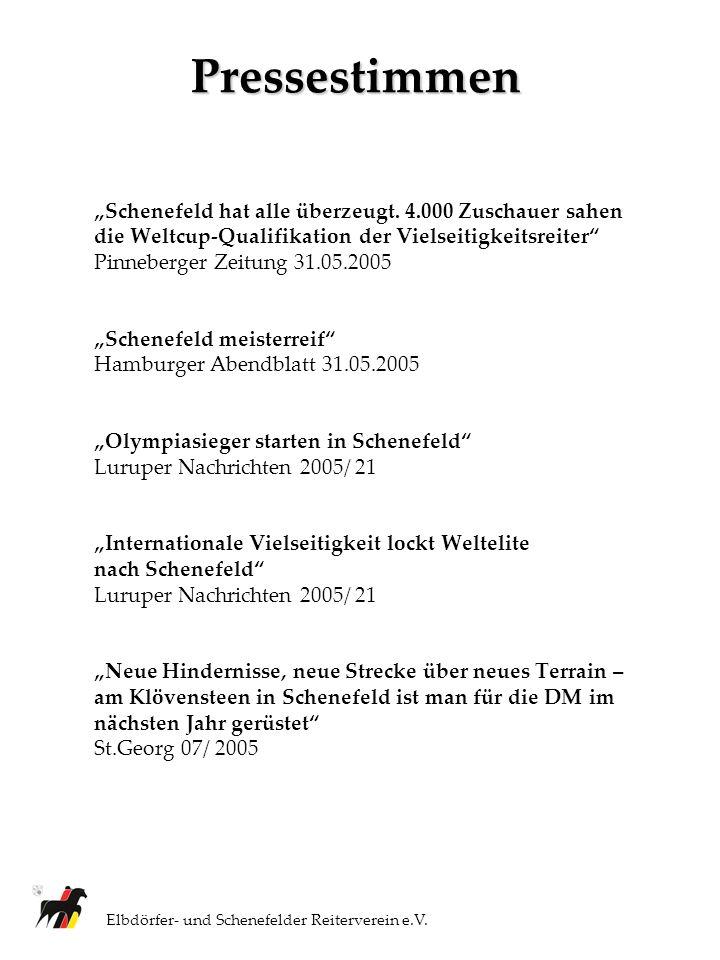 Ihr Ansprechpartner: Elbdörfer- und Schenefelder Reiterverein e.V.
