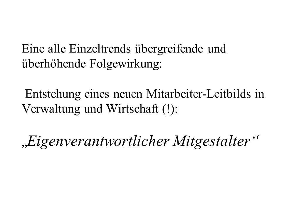 Faktische Arbeitsbelastung (Quelle: Mitarb.-Befragg. Stadtverwaltung)
