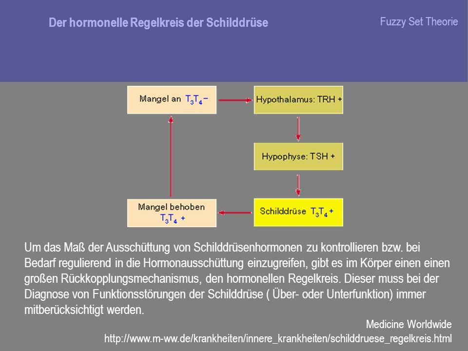 Um das Maß der Ausschüttung von Schilddrüsenhormonen zu kontrollieren bzw. bei Bedarf regulierend in die Hormonausschüttung einzugreifen, gibt es im K