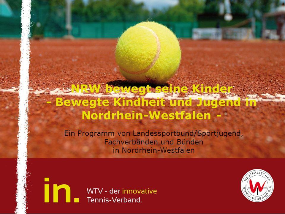 NRW bewegt seine Kinder - Bewegte Kindheit und Jugend in Nordrhein-Westfalen - Ein Programm von Landessportbund/Sportjugend, Fachverbänden und Bünden
