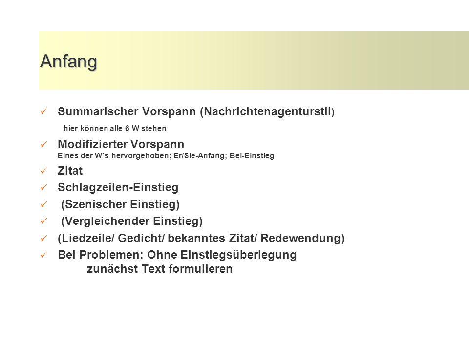 Schreiben: Die W-Fragen Wer sagte Oberbürgermeister Hans Neu Was die Wassergebühren von...
