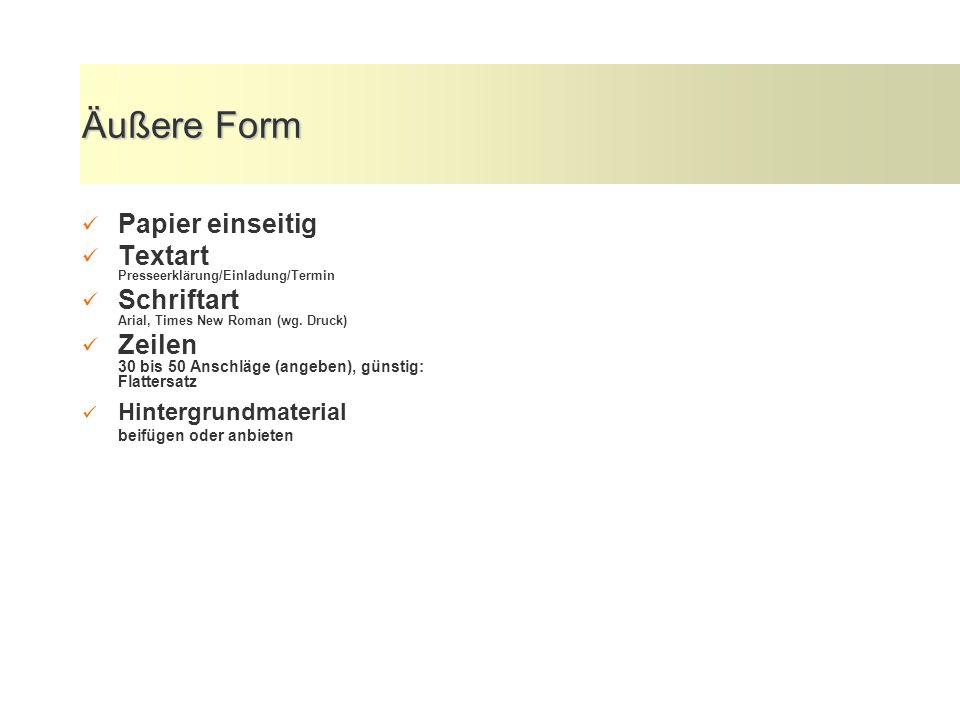 Aufbau - Pyramidenform 1.Zentrale Aussage; Informationskern; Höhepunkt 2.