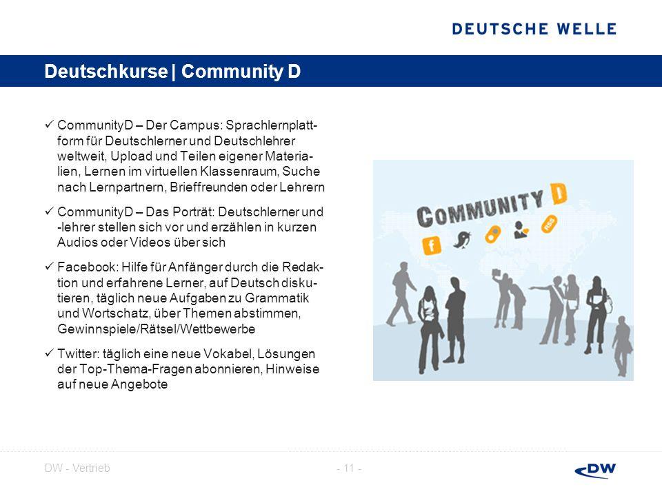 - 12 -DW - Vertrieb Deutschkurse | Service