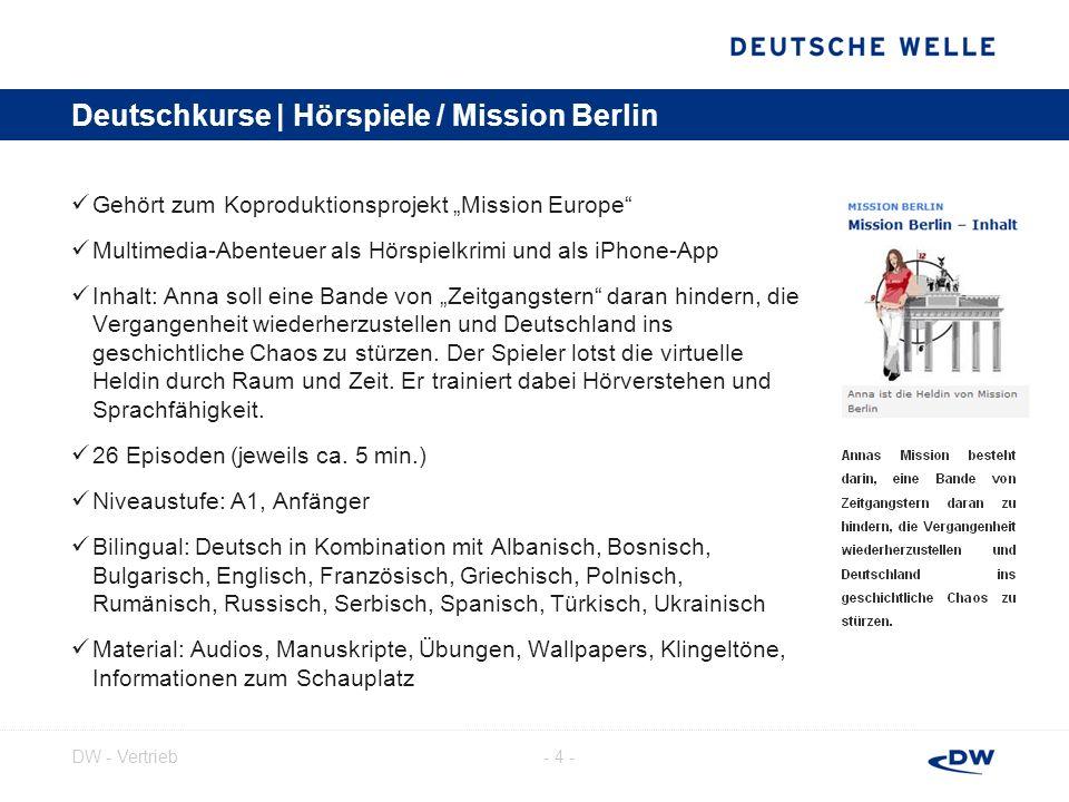 - 5 -DW - Vertrieb Deutschkurse | Jojo sucht das Glück Interaktive Websoap für Deutschlerner; mit eigener Facebook-Seite Der Nutzer begleitet die brasilianische Studentin Jojo auf ihrer Suche nach dem Glück und einer geheimnisvollen Internetbekanntschaft.