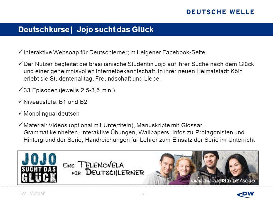 - 6 -DW - Vertrieb Deutschkurse | Deutsch Kompakt Deutsch – warum nicht.