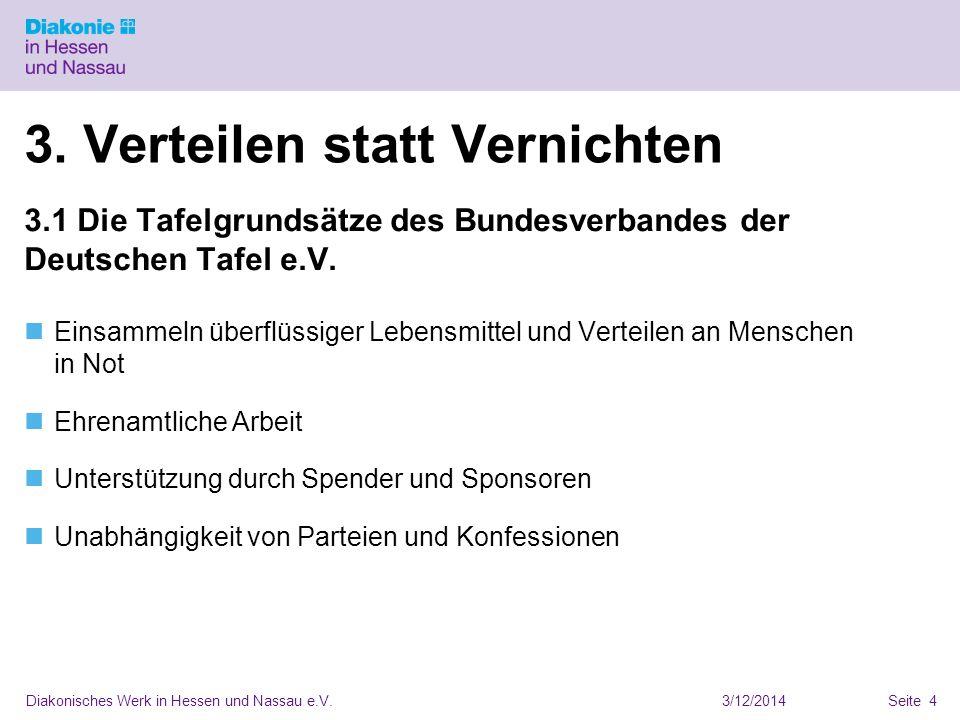 3/12/2014Diakonisches Werk in Hessen und Nassau e.V.Seite 4 3.
