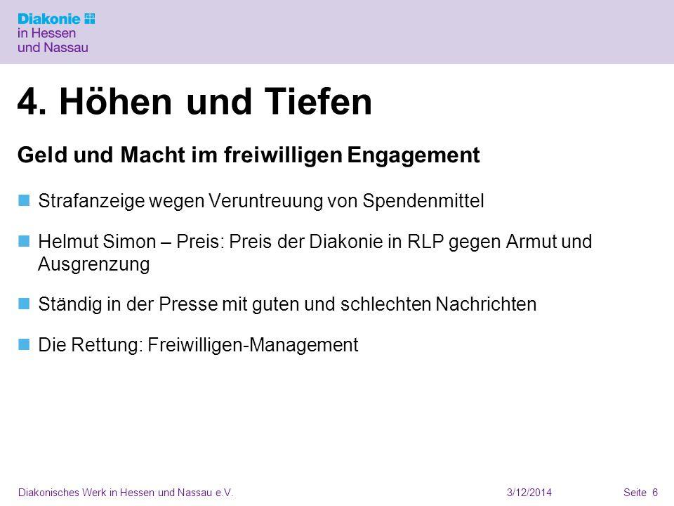 3/12/2014Diakonisches Werk in Hessen und Nassau e.V.Seite 6 4.