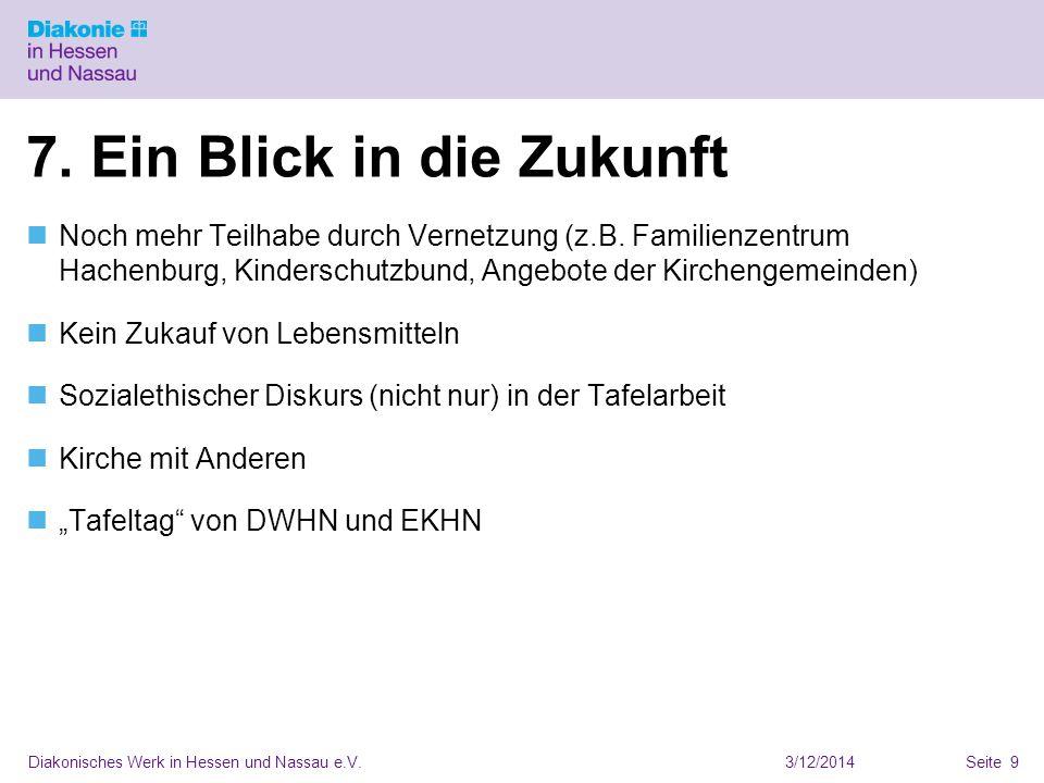 3/12/2014Diakonisches Werk in Hessen und Nassau e.V.Seite 9 7.