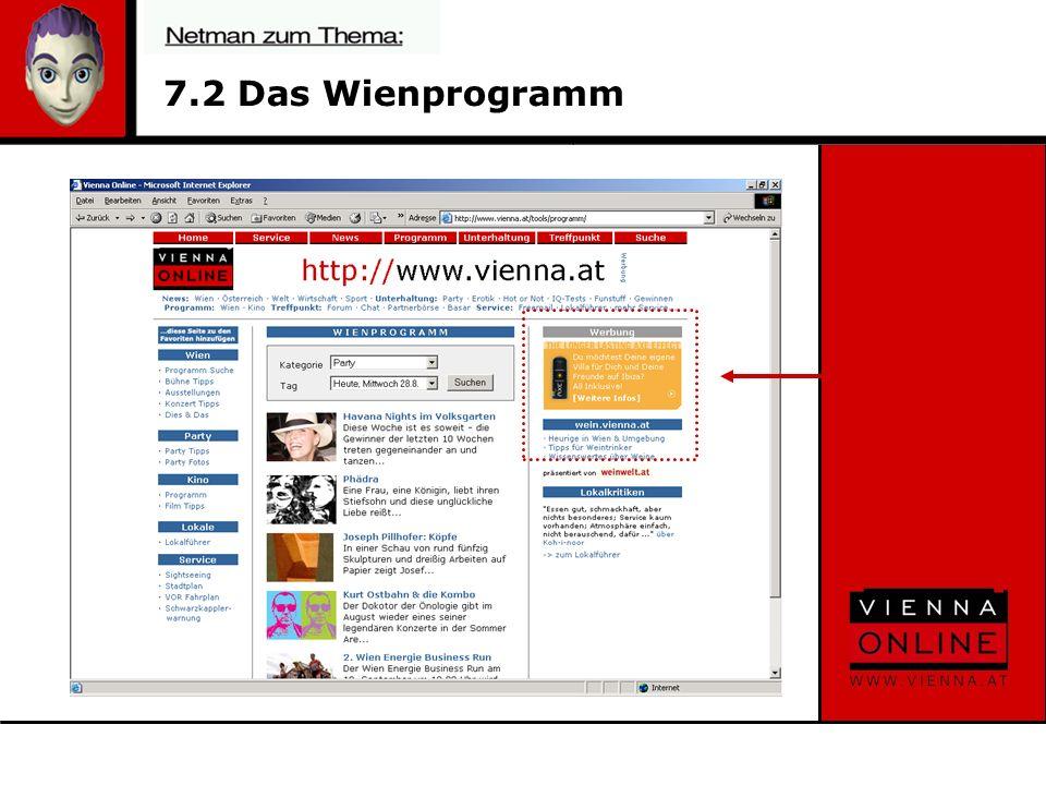 7.2 Das Wienprogramm