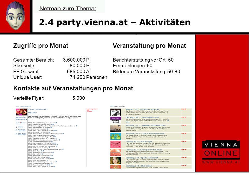 7.5 Eristoff - Partyseite