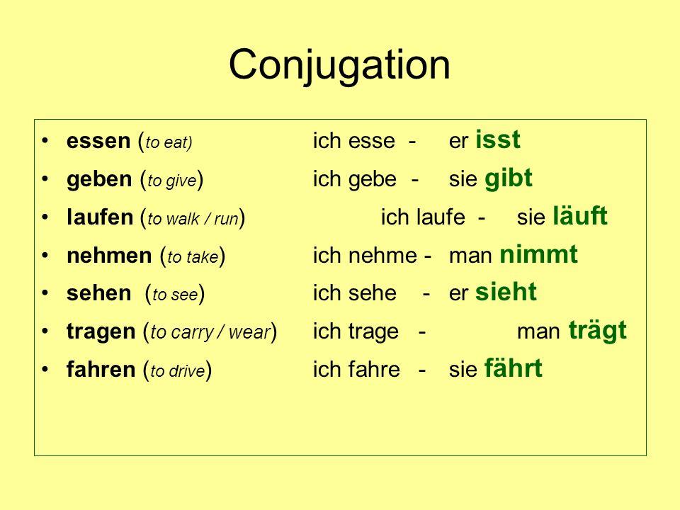 Homework for Wednesday, November 28 translation (pg 7) into German.