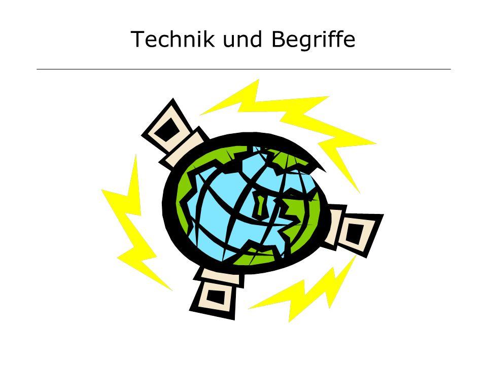 Technik und Begriffe