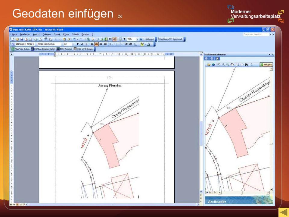 Geodaten einfügen (5)
