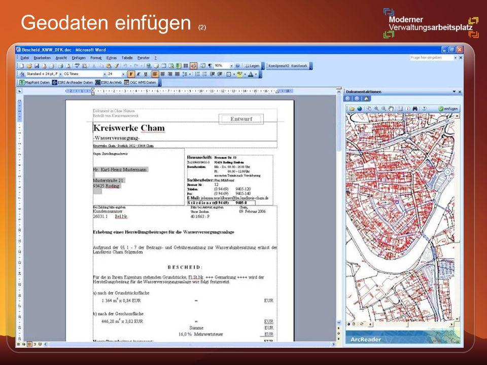 Geodaten einfügen (2)