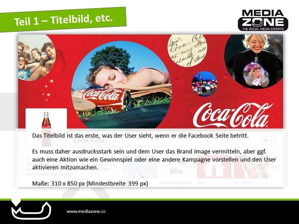 www.mediazone.cc Beispiele Link zur Red Bull Facebook Seite Link zur Red Bull Facebook Seite