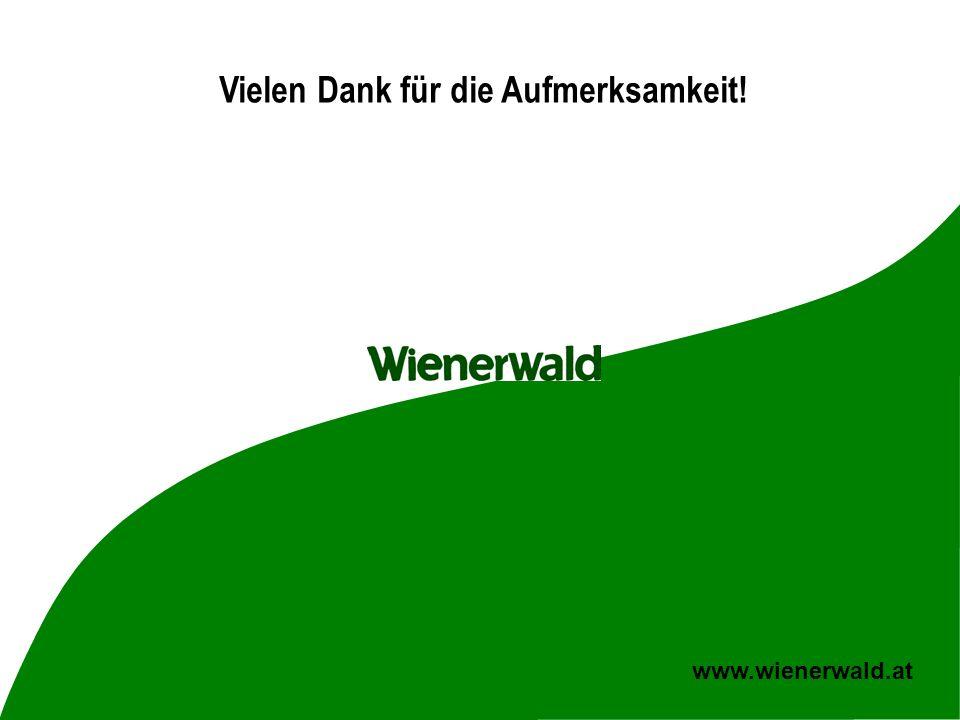 CE v5.8 © 2008 Wienerwald 19 www.wienerwald.at Vielen Dank für die Aufmerksamkeit!