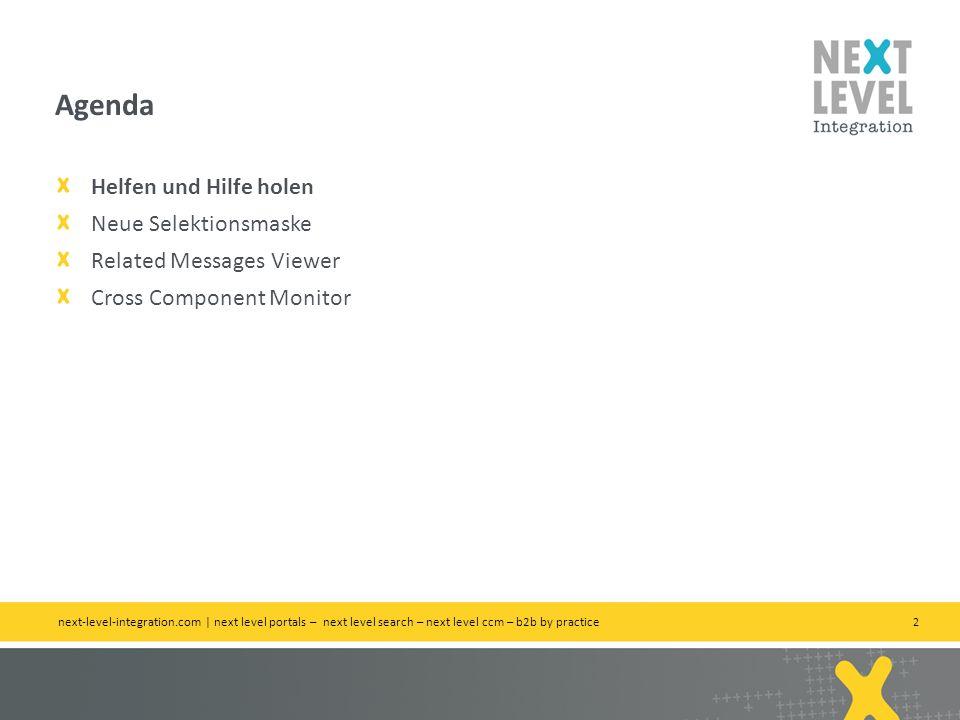 3 Wo das Wünschen noch hilft next-level-integration.com | next level portals – next level search – next level ccm – b2b by practice