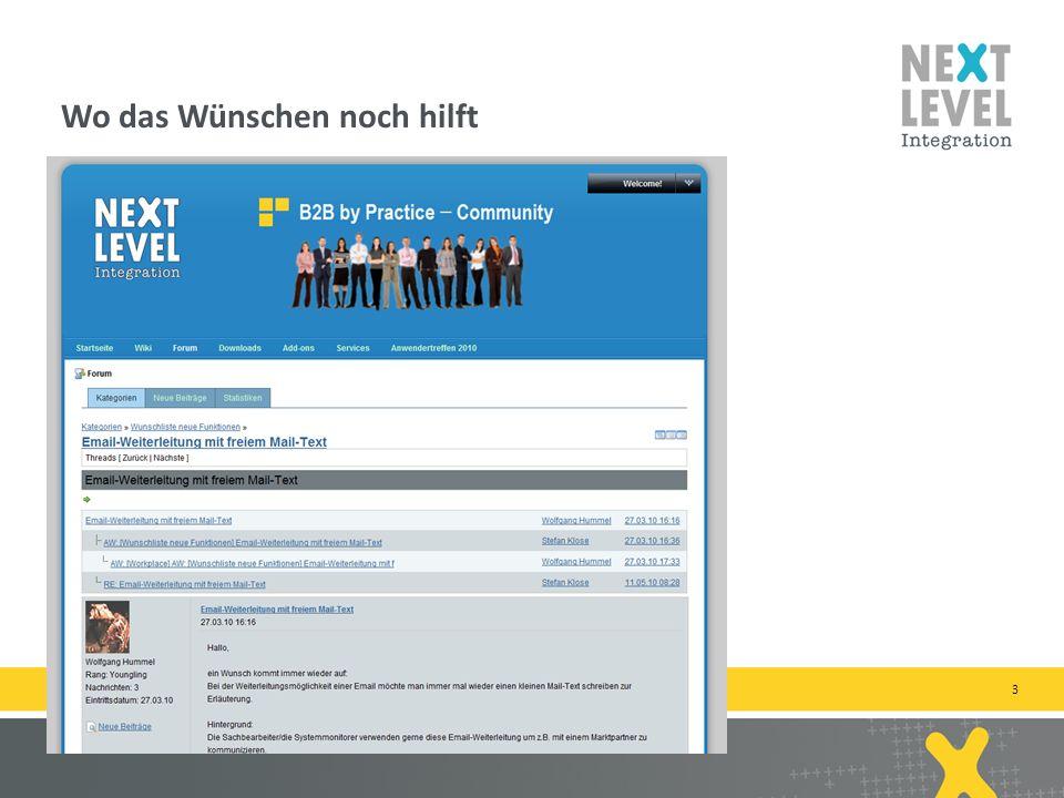 14 Zugehörige Nachrichten werden in neuen Fenster geöffnet next-level-integration.com | next level portals – next level search – next level ccm – b2b by practice