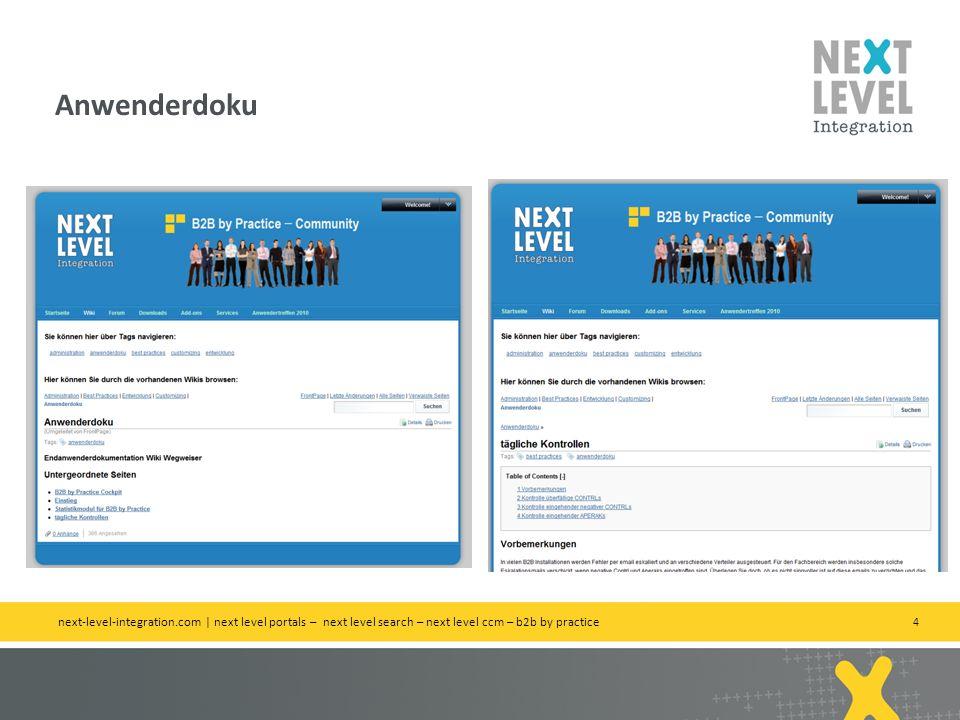 5 Neue Hilfeseite / aktuelle Nachrichten next-level-integration.com | next level portals – next level search – next level ccm – b2b by practice