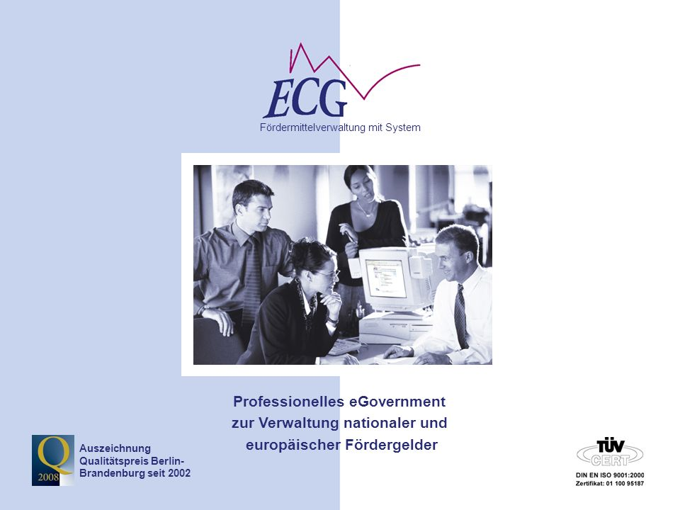 © www.ecg.eu GmbH 42 TOP 5 - Planung