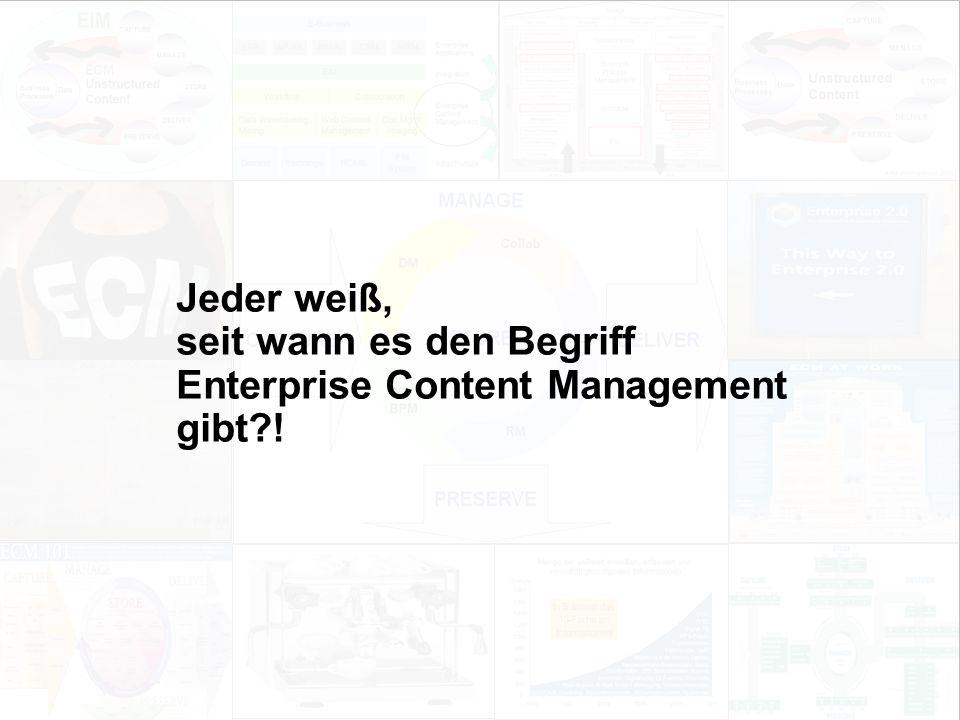 11 EIM Update und Trends 2010 Dr. Ulrich Kampffmeyer PROJECT CONSULT Unternehmensberatung Dr.