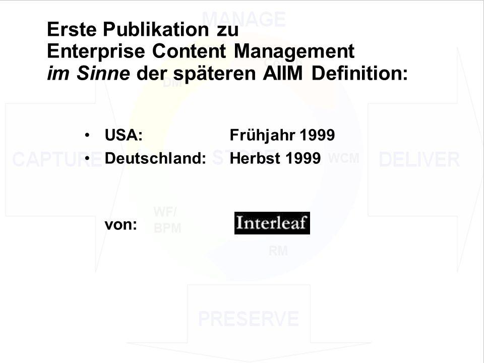 12 EIM Update und Trends 2010 Dr. Ulrich Kampffmeyer PROJECT CONSULT Unternehmensberatung Dr.
