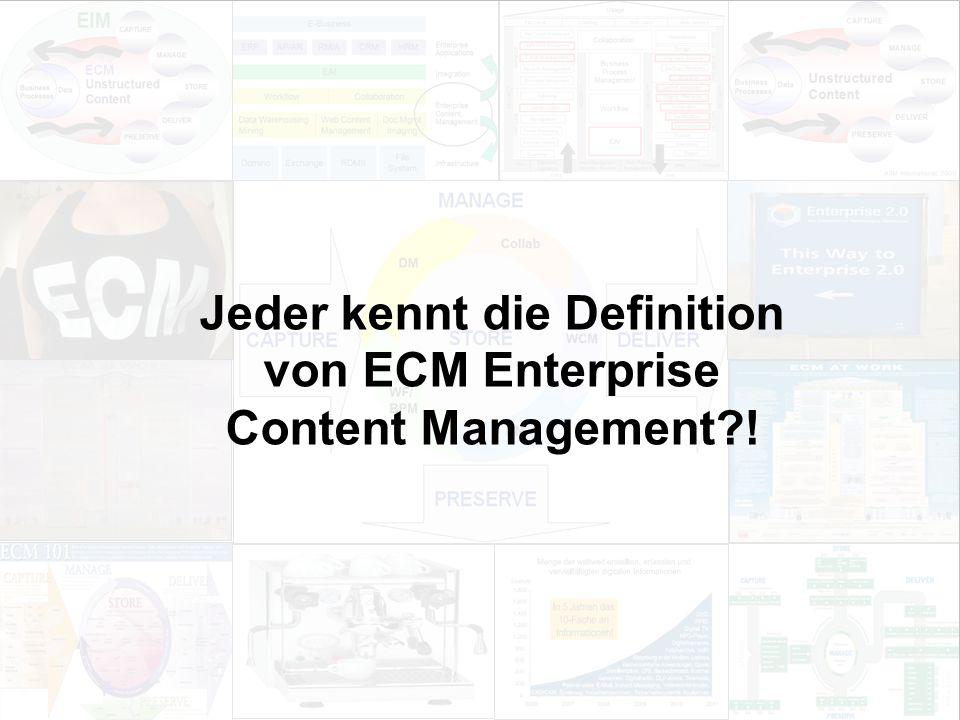 15 EIM Update und Trends 2010 Dr. Ulrich Kampffmeyer PROJECT CONSULT Unternehmensberatung Dr.