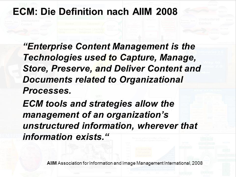 16 EIM Update und Trends 2010 Dr. Ulrich Kampffmeyer PROJECT CONSULT Unternehmensberatung Dr.
