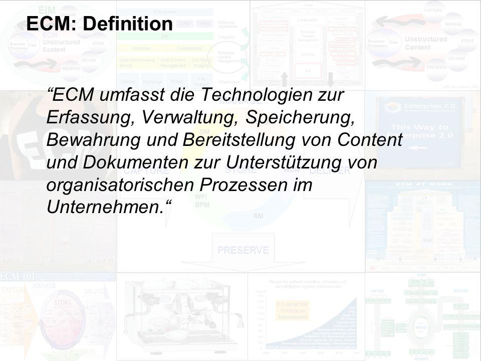17 EIM Update und Trends 2010 Dr. Ulrich Kampffmeyer PROJECT CONSULT Unternehmensberatung Dr.