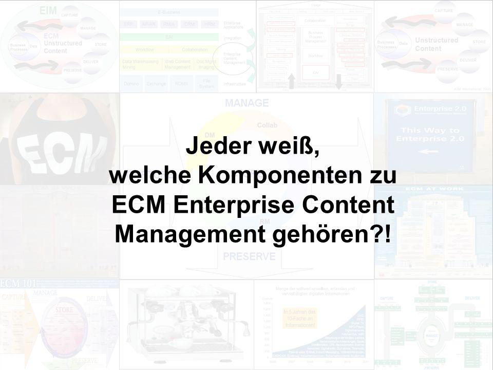 18 EIM Update und Trends 2010 Dr. Ulrich Kampffmeyer PROJECT CONSULT Unternehmensberatung Dr.