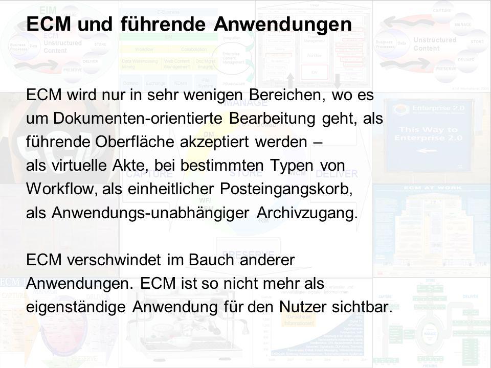 33 EIM Update und Trends 2010 Dr. Ulrich Kampffmeyer PROJECT CONSULT Unternehmensberatung Dr.