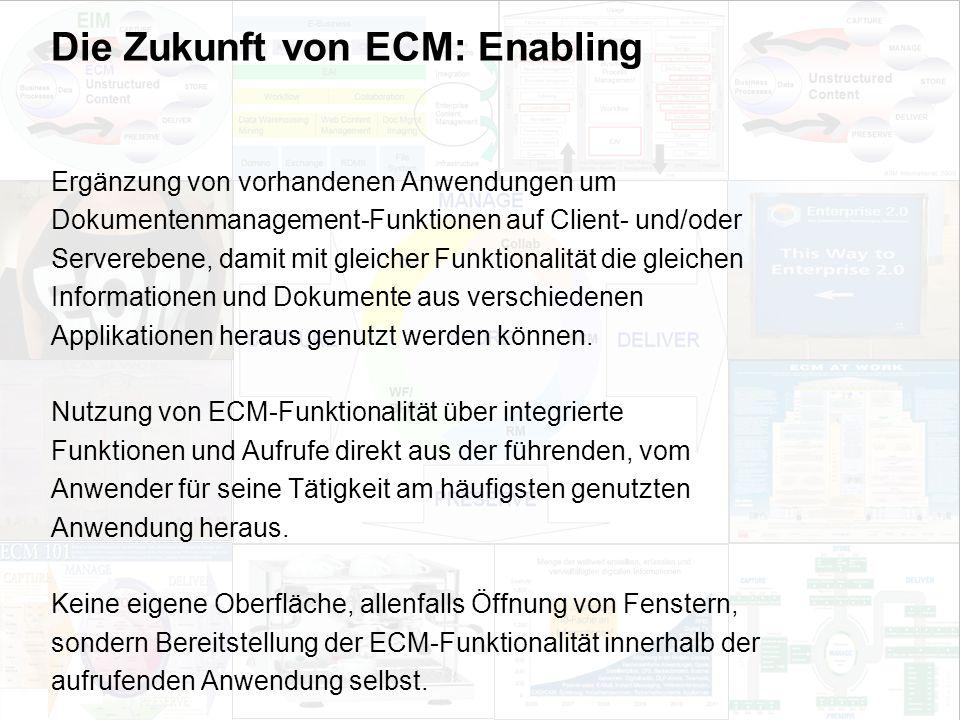 34 EIM Update und Trends 2010 Dr. Ulrich Kampffmeyer PROJECT CONSULT Unternehmensberatung Dr.