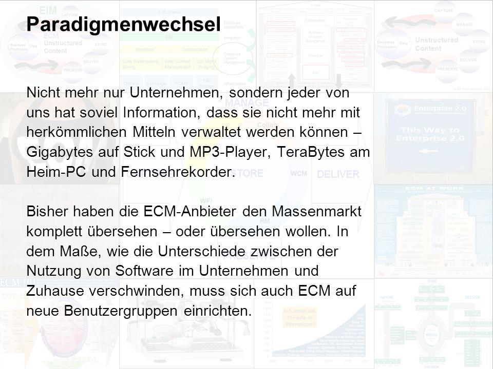 37 EIM Update und Trends 2010 Dr. Ulrich Kampffmeyer PROJECT CONSULT Unternehmensberatung Dr.